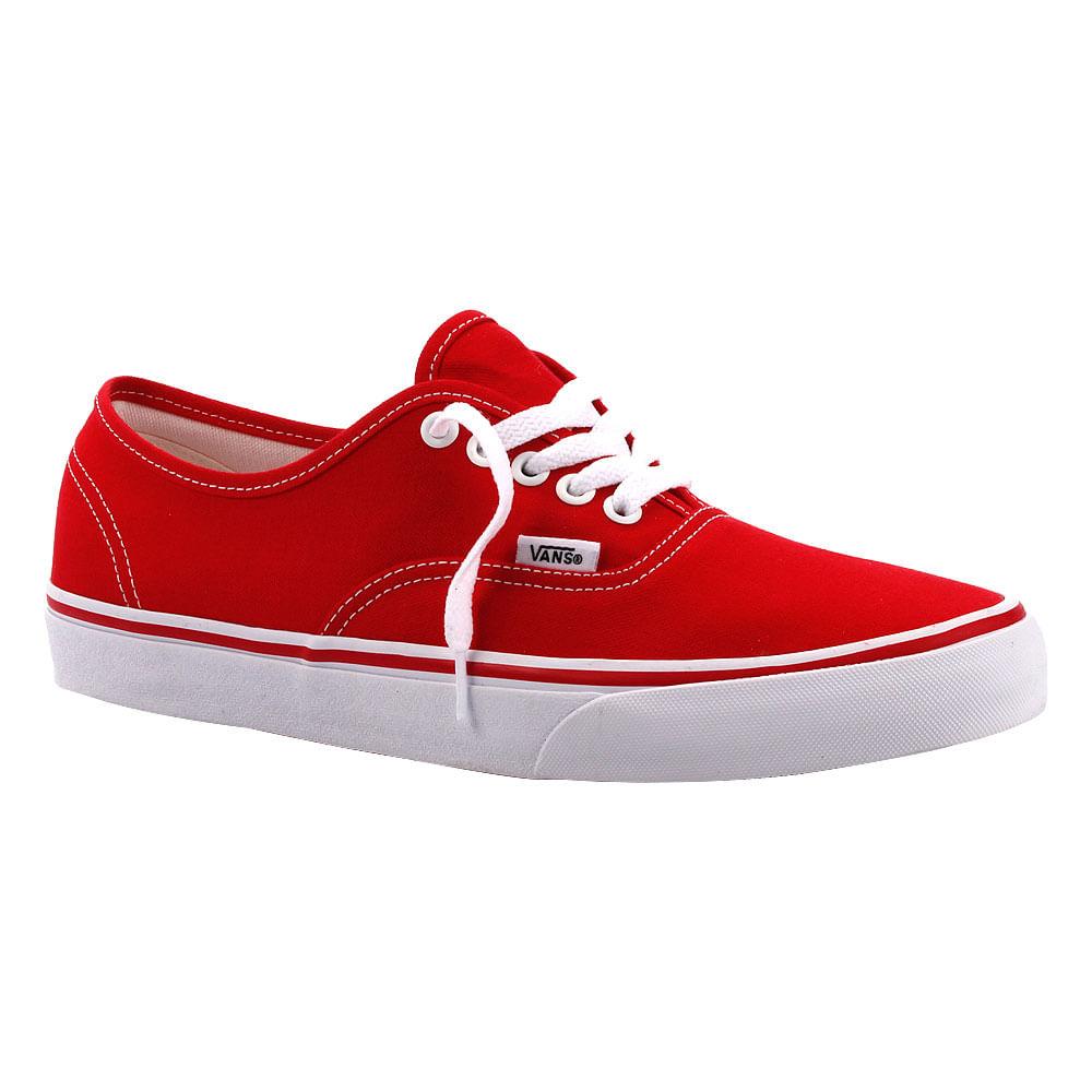 Buy vans authentic vermelho   OFF39% Discounts 4864d1bb3ce