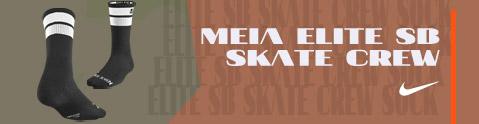 Meia Nike Elite SB Skate Crew