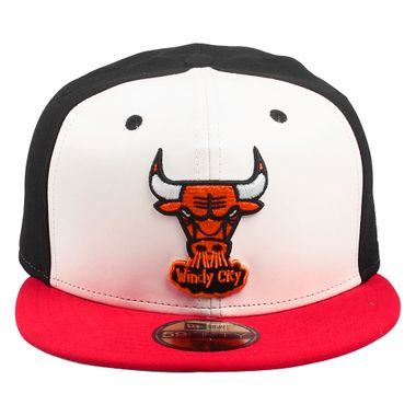 Bone-New-Era-59FIFTY-Three-Color-Chicago-Bulls-Masculino