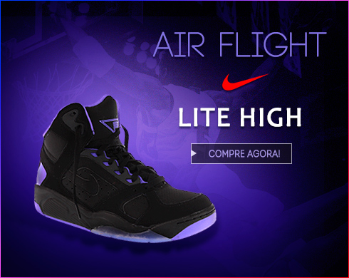 Tênis Nike Air Flight Lite High