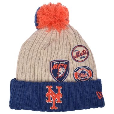 Gorro-New-Era-Pom-Vintage-Knitter-New-York-Mets