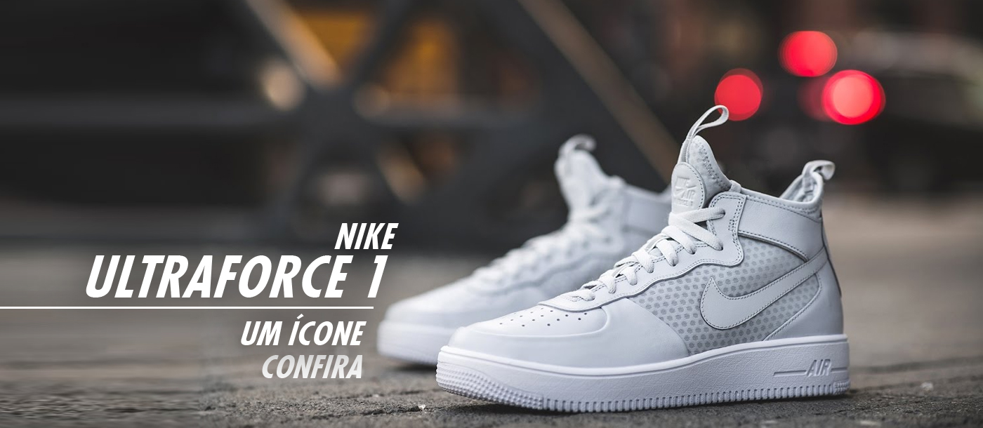 Banner TV - Nike Air Force 1 Mid