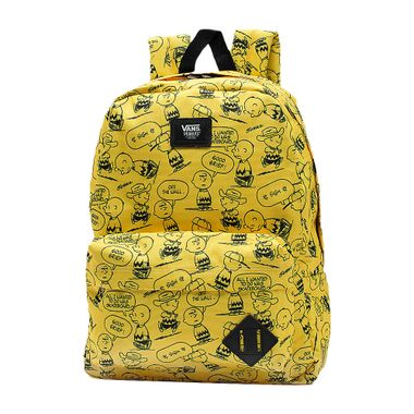 Mochila-Vans-X-Peanuts-Old-Skool-II-Backpack-Charlie-Brown-Amarelo