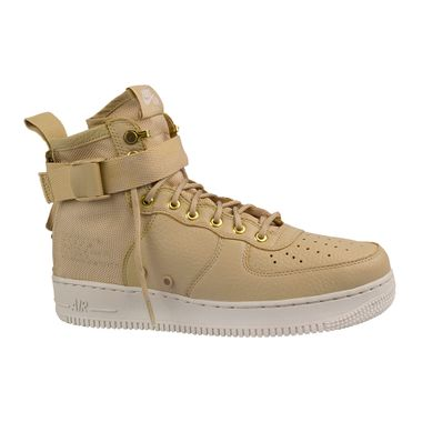Tenis-Nike-SF-Air-Force-1-Mid--Masculino-Beje