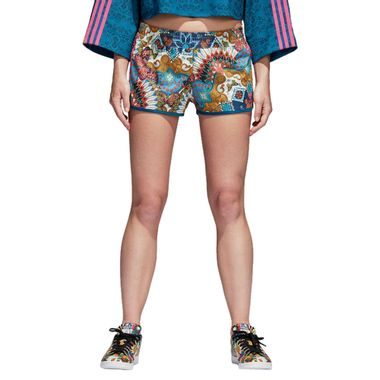 Shorts-adidas-Borbomix-Feminino-Multicolor
