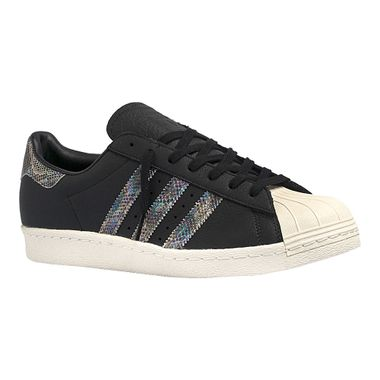 Tenis-adidas-Superstar-80s-Masculino-Preto