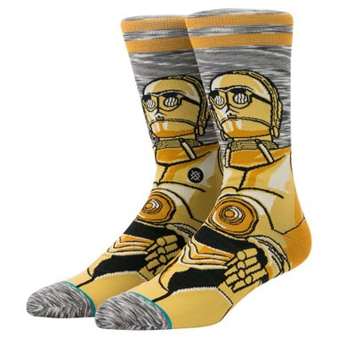 Meia-Stance-Android-Masculina-Amarelo