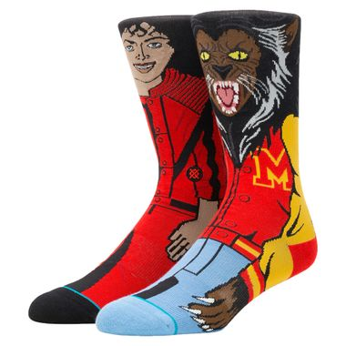 Meia-Stance-Michael-Jackson-Masculina-Multicolor