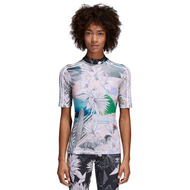 Camiseta-adidas-Farm-Feminina-Multicolor