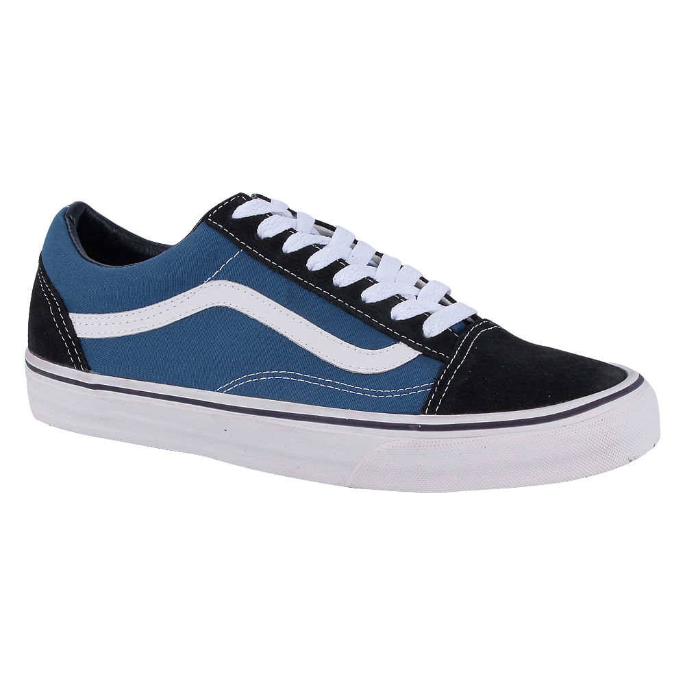 Tênis Vans Old Skool Azul é na Artwalk - Artwalk c93b05938d