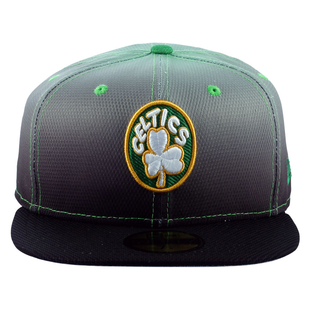 68a39df1b Boné New Era 59FIFTY Diamond Gradation Boston Celtics Masculino ...