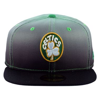 Boné New Era 59FIFTY Diamond Gradation Boston Celtics Masculino 1d4b9b43049
