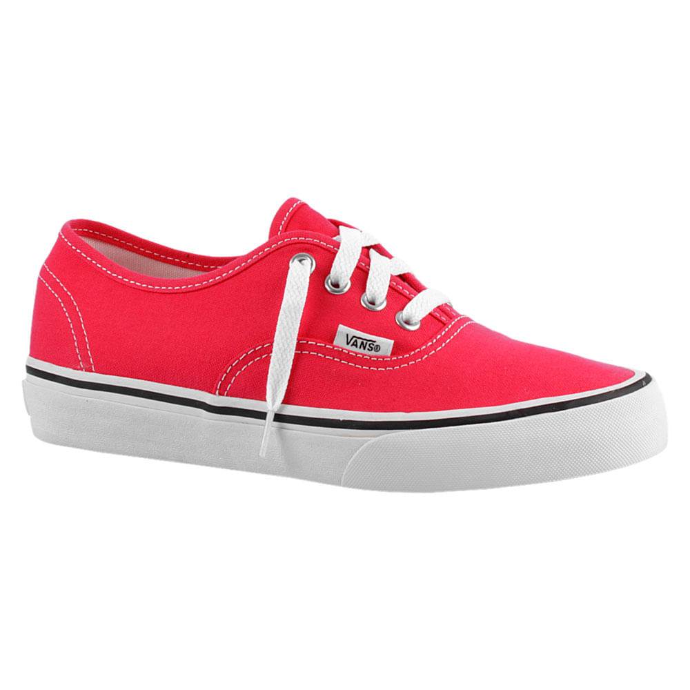 db0f0ed8324 Tênis Vans Authentic Rosa Feminino
