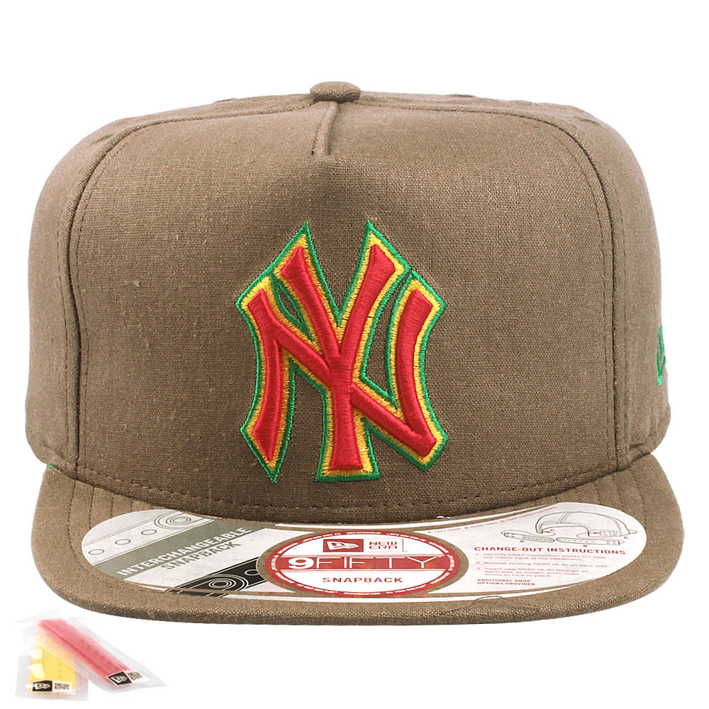 Bone-New-Era-9FIFTY-Int-Jamaican-Color-New-York-Yankees-Masculino