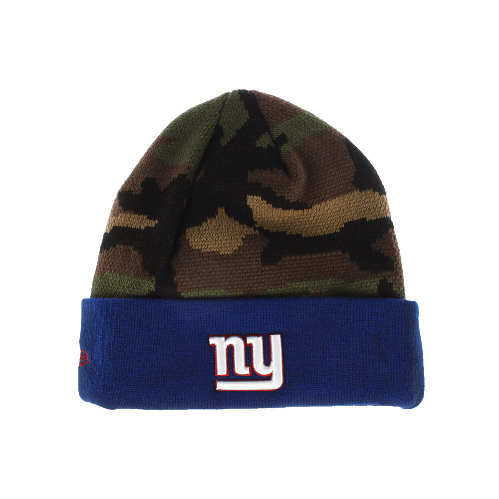 ff79fed27 Gorro New Era Block Cuffer New York Giants Masculino