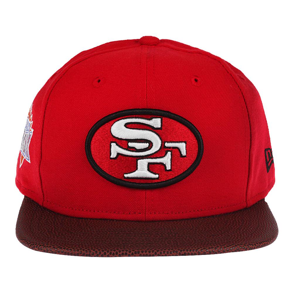 21a99bc07d8f8 Boné New Era 9Fifty Super Bowl Champion XXIX San Francisco 49ERS ...