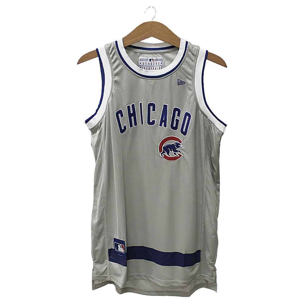 668c07853 Regata-New-Era-Basketball-Stripes-Chicago-Cubs-Masculino ...