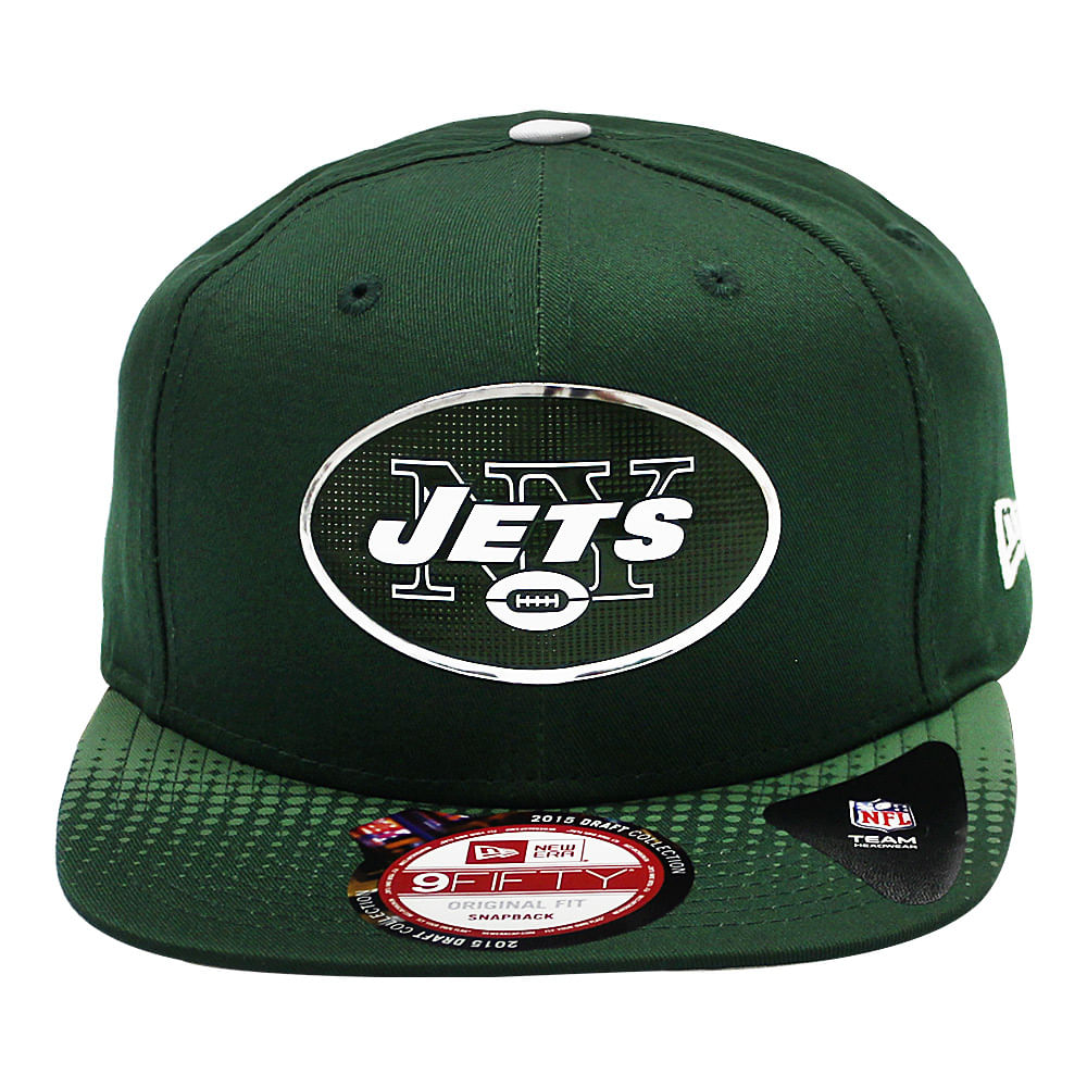 a2a63cff96968 Boné New Era 9Fifty Official Draft New York Jets