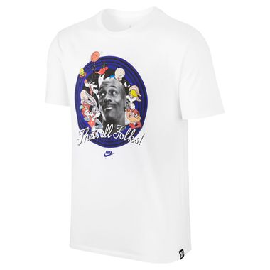 dbdce40f12c Camiseta Nike Air Jordan 11 That´S All Folks Masculina