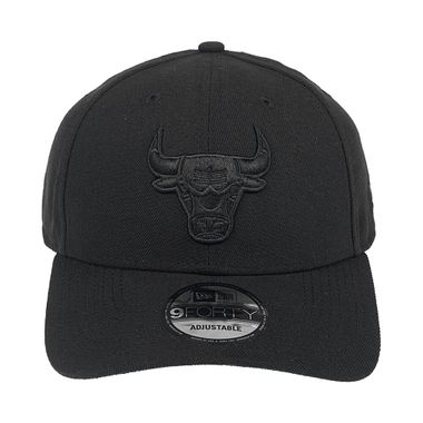 Bone-New-Era-9Forty-St-Black-On-Black-Chicago-Bulls-Masculino