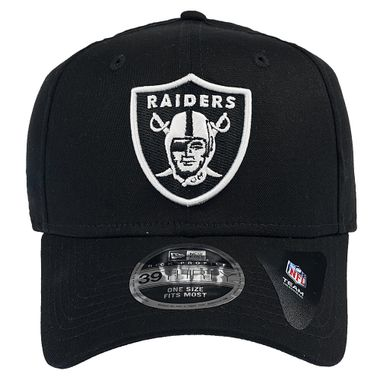 Bone-New-Era-39Thirty-Hc-White-On-Black-Oakland-Raider-Masculino