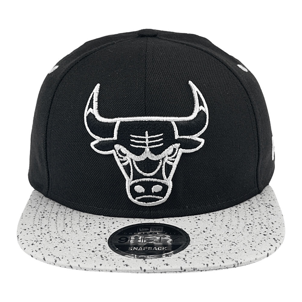 Bone-New-Era-9Fifty-Of-Sn-Concrete-Otc-Chicago-Bulls-Masculino