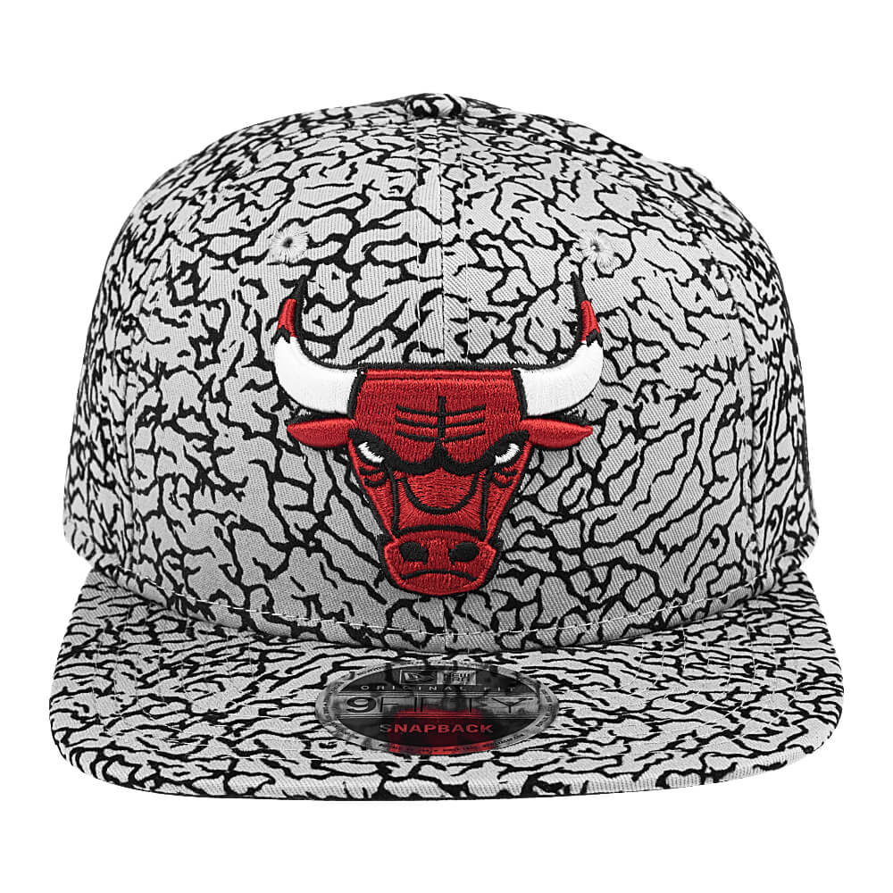 Boné New Era 9Fifty Of Sn Bong Elephant Print Chicago Bulls ... ecb6cf6d451