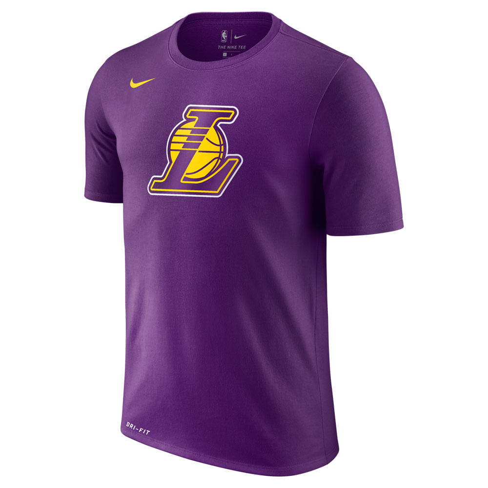 Camiseta-Nike-NBA-Los-Angeles-Lakers-Dry-Logo-Masculina-Roxo