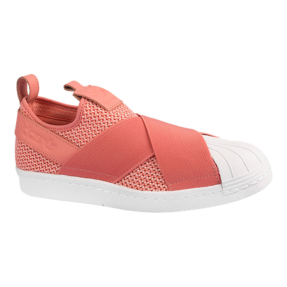 Tenis-adidas-Superstar-Slip-On-Feminino-Rosa