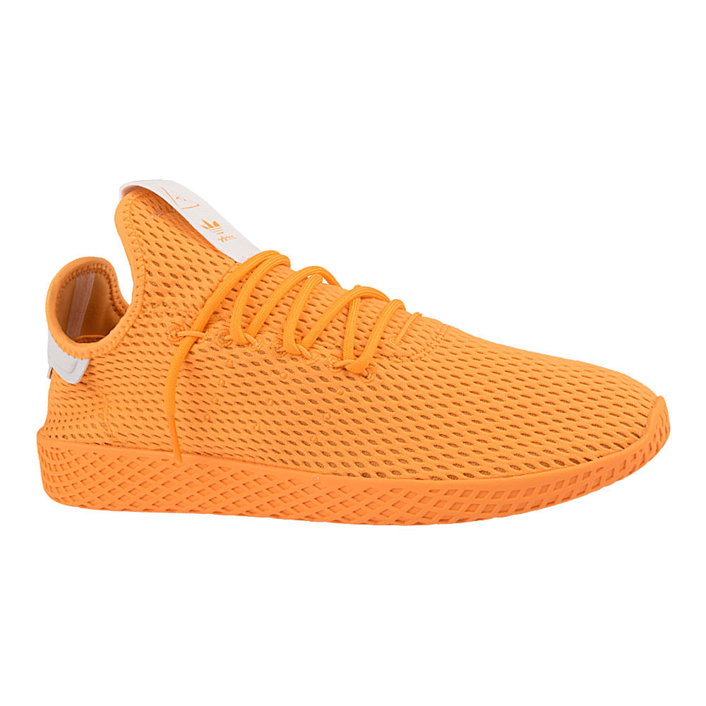 Tenis-adidas-Pharrel-Williams-Tennis-Hu-Masculino-Amarelo