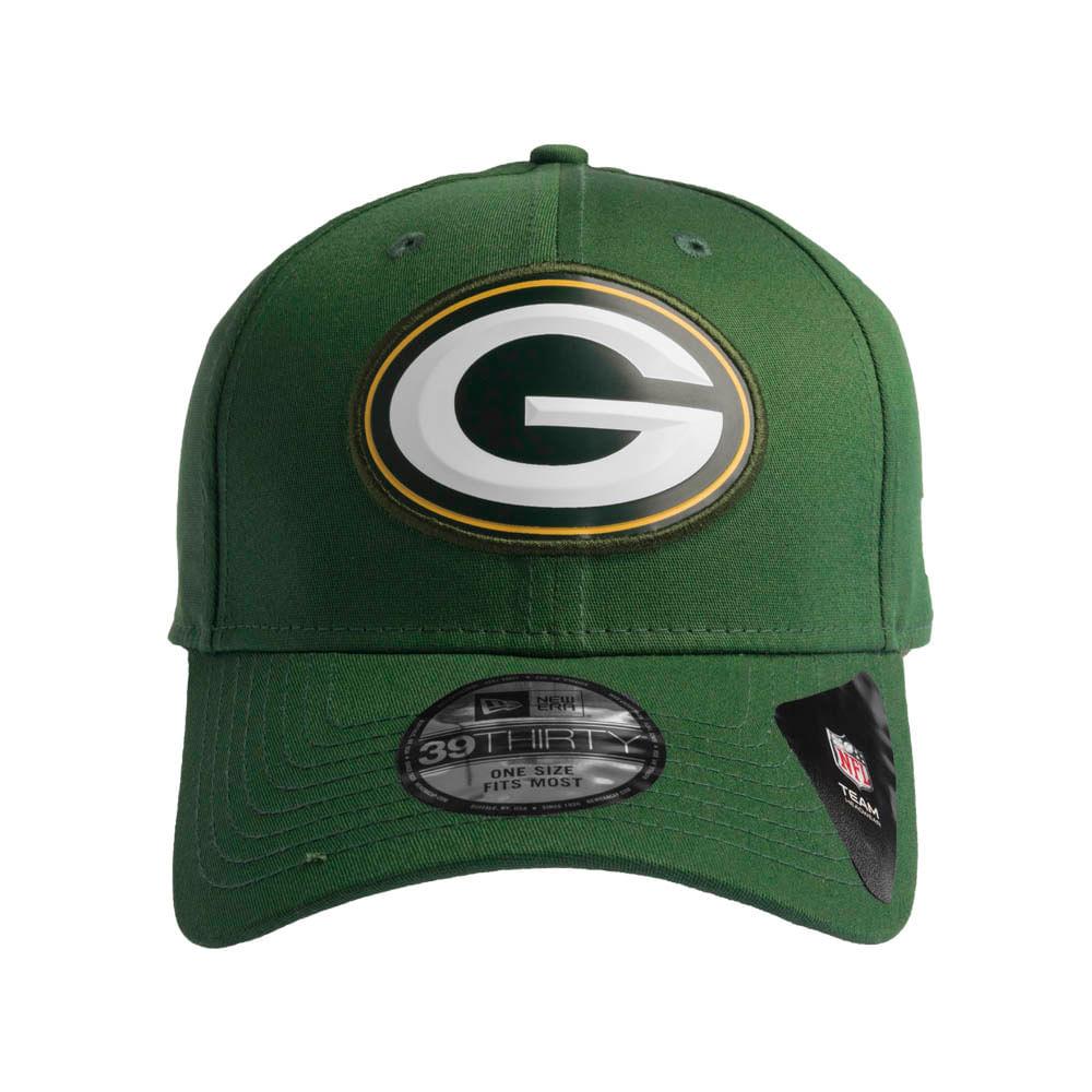 Bone-New-Era-39Thirty-Green-Bay-Packers-Masculino ... f57237f90fd
