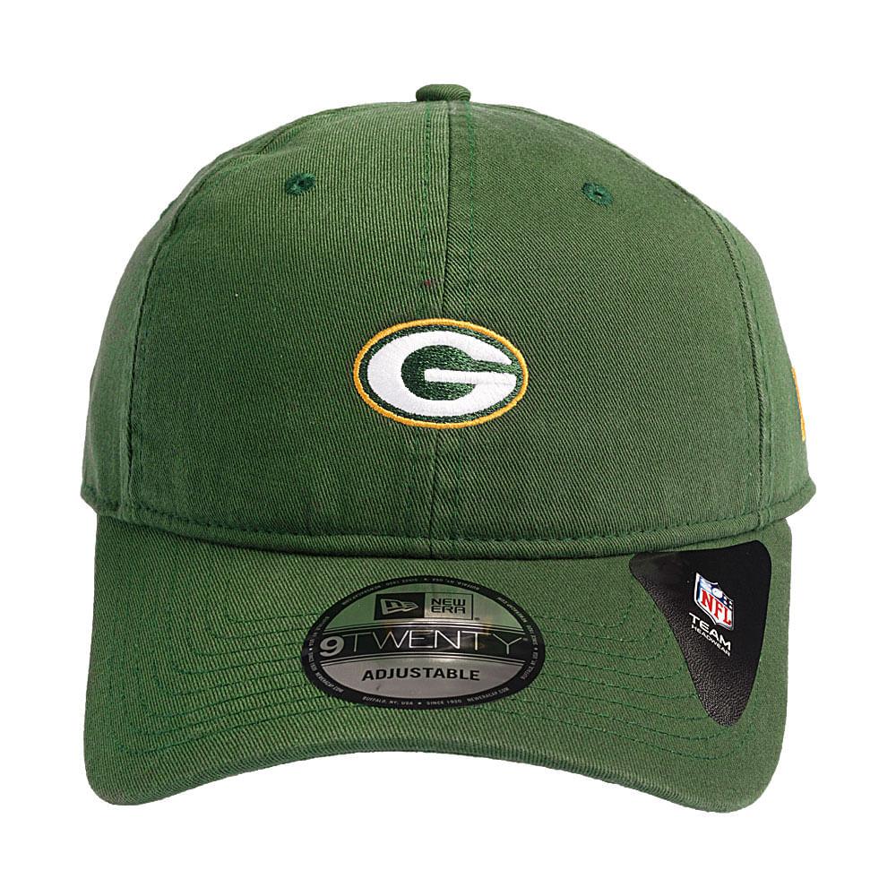 Boné New Era 9Twenty ST Mino Logo Classic Green Bay Packers ... ce257c5536f