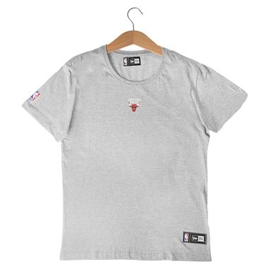 Camiseta-New-Era-Mini-Logo-Chicago-Bulls-Masculino-Cinza