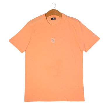 Camiseta-New-Era-Candy-Color-New-York-Yankees-Masculina-Laranja