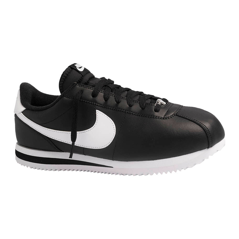 Tenis-Nike-Cortez-Basic-Leather-Masculino-Preto