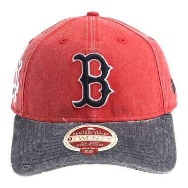 Bone-New-Era-9Twenty-ST-A-L-East-Patch-Boston-Red-Sox-Masculino-Vermelho