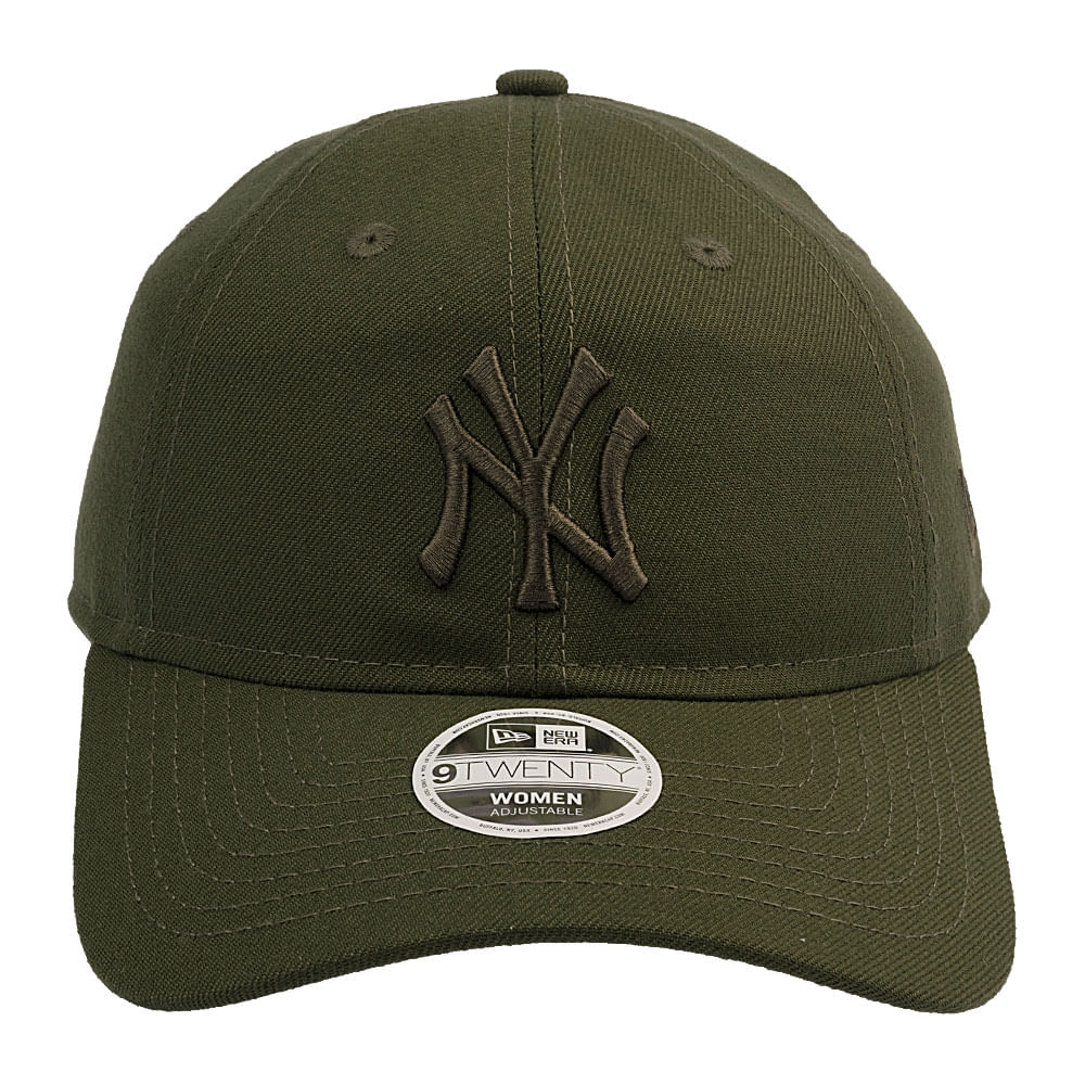 Bone-New-Era-9Twenty-New-York-Yankees-Rifle-Green-Tonal-Feminino-Verde