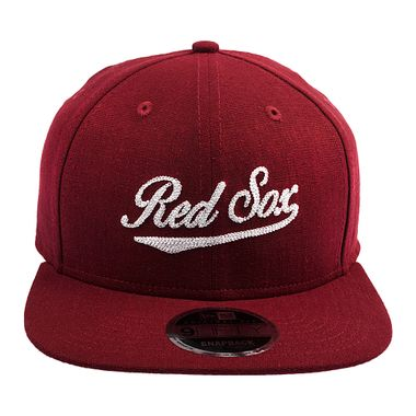 Bone-New-Era-9Fifty-Sn-Core-Linen-Boston-Red-Sox-Vinho