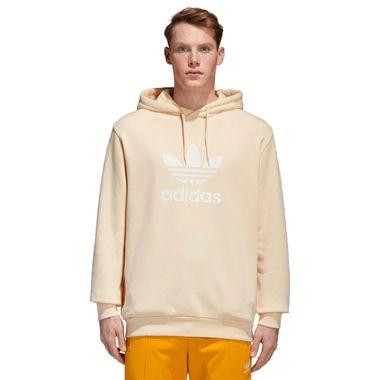 Blusa-adidas-Trefoil-Hoodie-Masculina-Amarelo