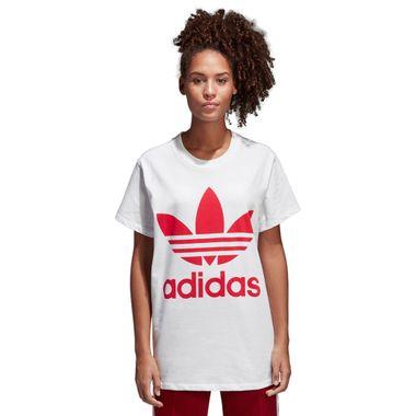 Camiseta-adidas-Big-Trefoil-Feminina-Branco