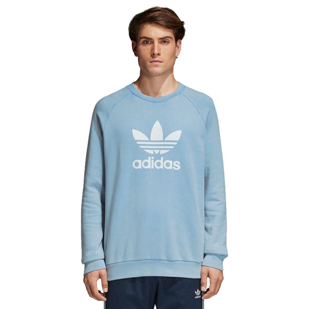 Blusa-adidas-Originals-Trefoil-Masculina-Azul