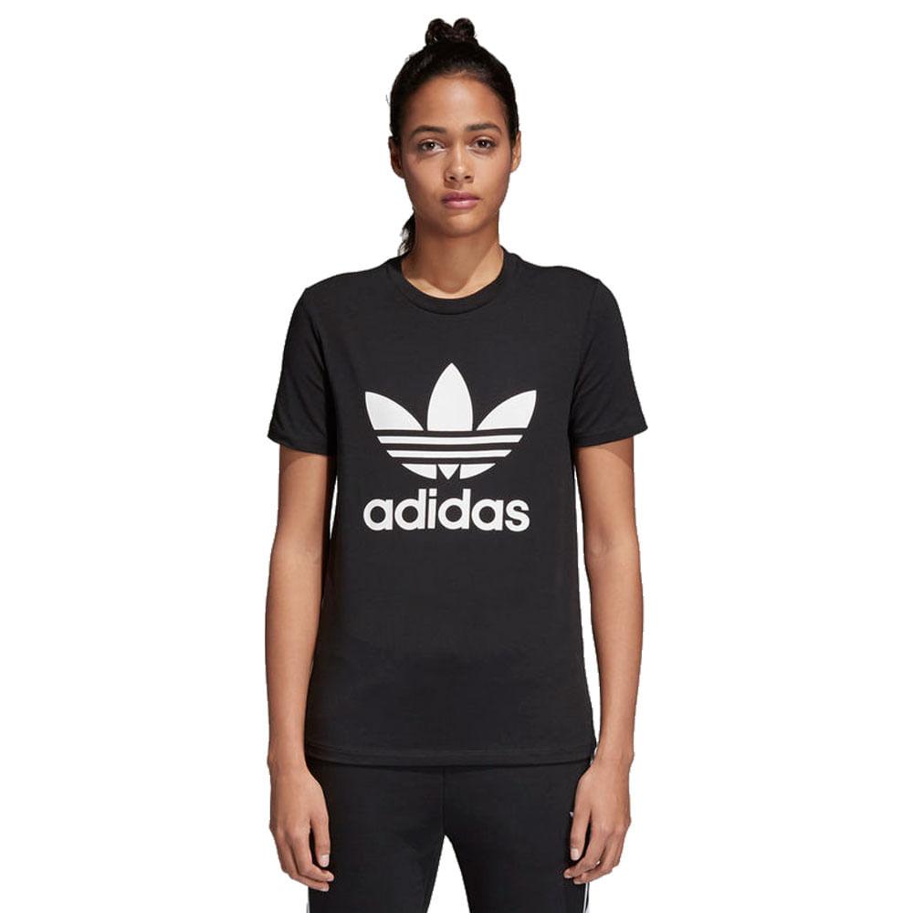 Camiseta-adidas-Originals-Trefoil-Feminina-Preto