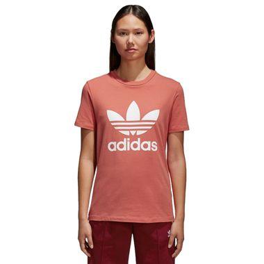 Camiseta-adidas-Trefoil-Feminina-Rosa