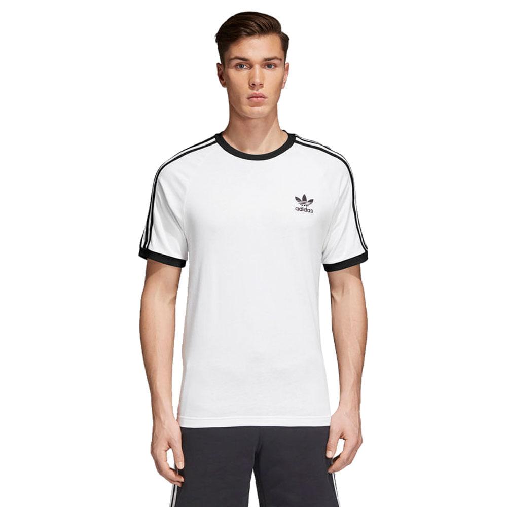 Camiseta-adidas-3-Stripes-Masculina-Branco