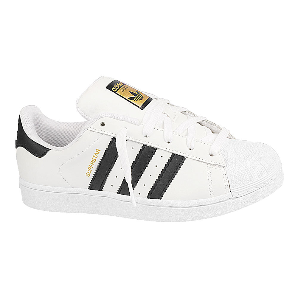 Tenis-adidas-Superstar-Foundation-GS-Branco