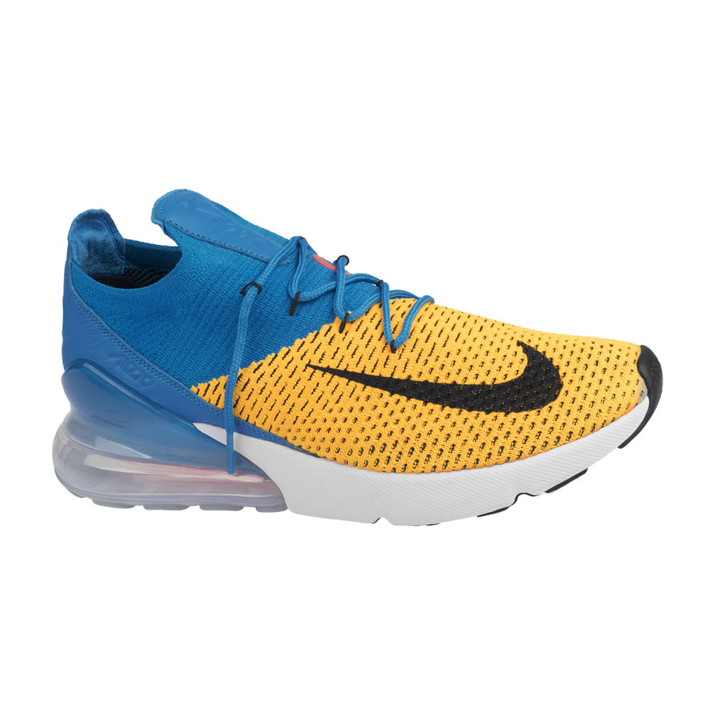 Tenis-Nike-Air-Max-270-Flyknit-Masculino-Amarelo