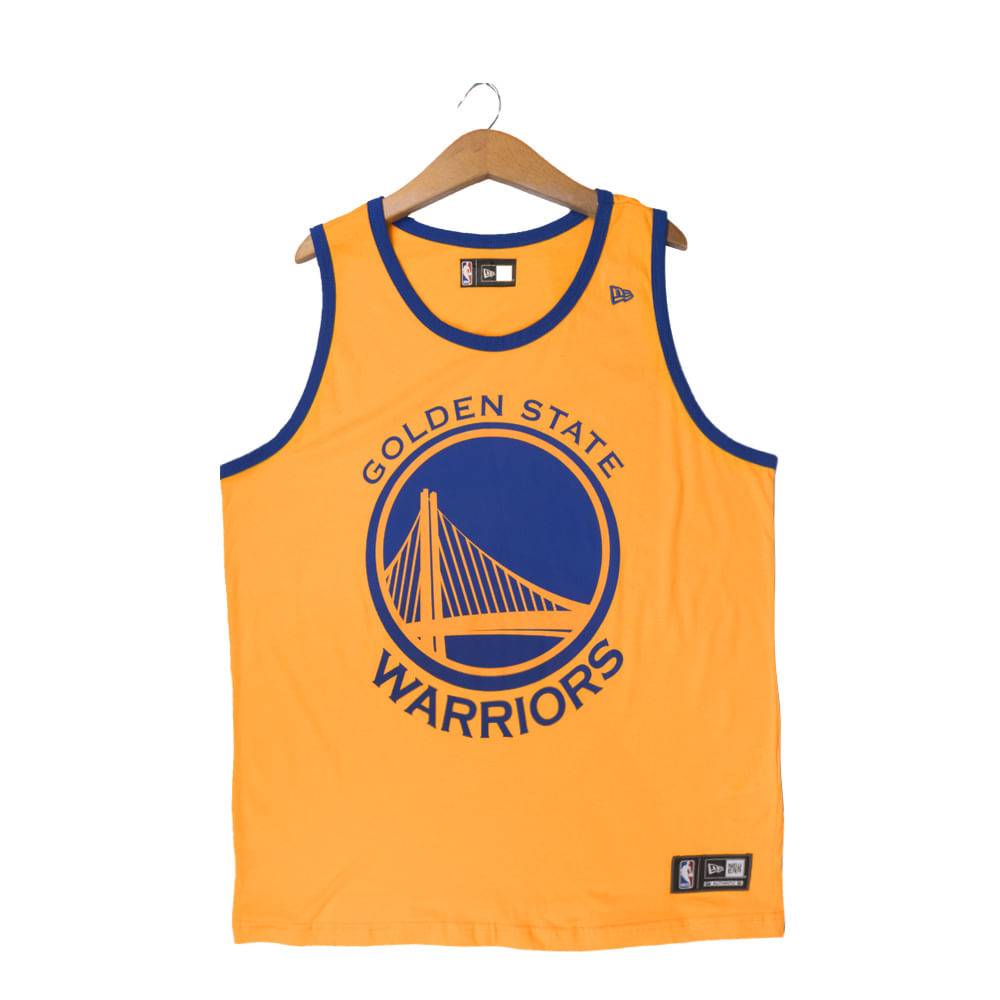 Regata-New-Era-Golden-State-Warriors-Masculino-Amarelo
