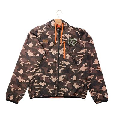 Jaqueta-New-Era-Windbreaker-Militar-Oakleand-Raiders-Masculina-Marrom