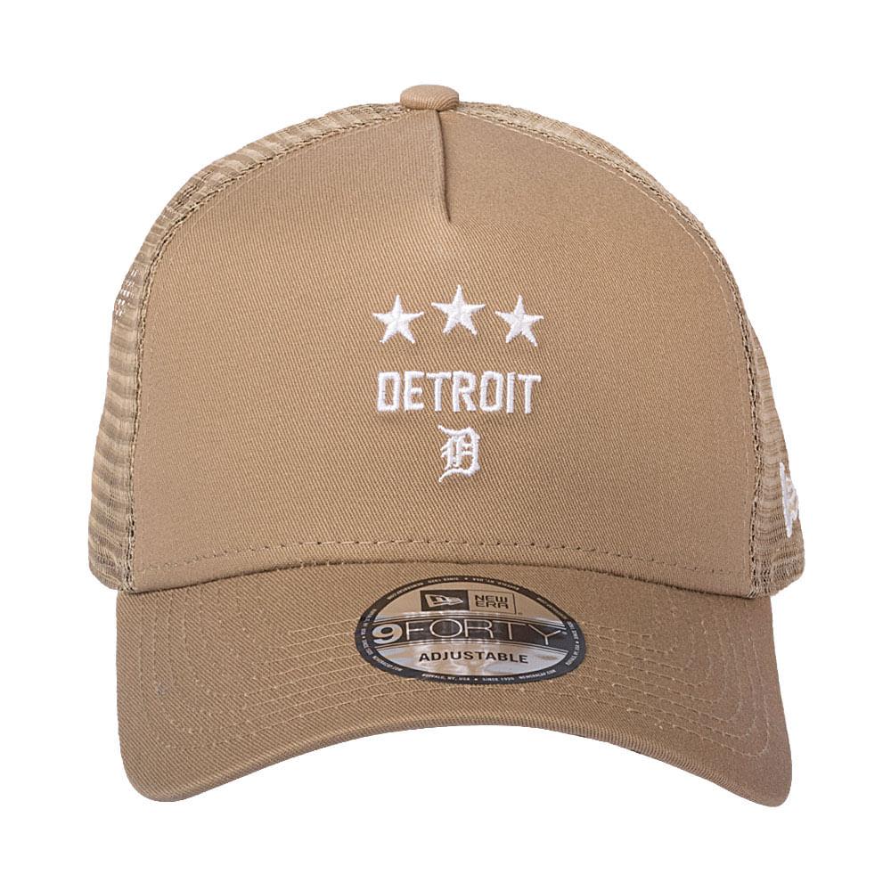 Bone-New-Era-9Forty-Sn-Military-Trucker-Detroit-Tigers-Masculino-Bege