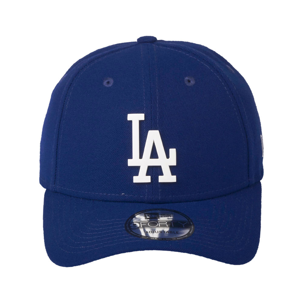 Bone-New-Era-9Forty-Sn-Core-Metal-Los-Angeles-Dodgers-Azul